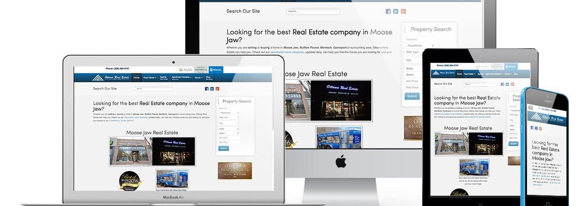 Real Estate Web Design London
